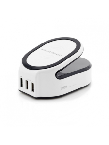 Statie Incarcare All in One | Wireless Charger with Smart and Quick Charge 3.00