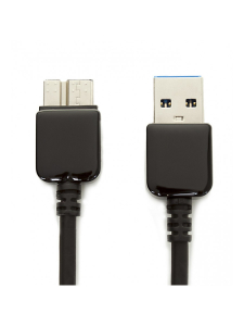 Cablu USB Samsung Galaxy S5 | Note 3 | Data and Charging Cable | Vetter Black1