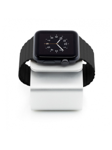 iWatch Charging Station | Aluminum Silver3