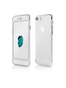 Husa iPhone 8, 7   Clip-On Shiny Soft Series   Silver [0]