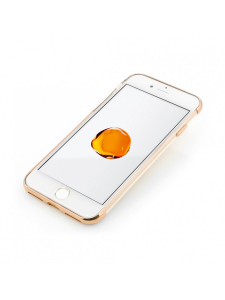 Husa iPhone 8, 7 | Clip-On Shiny Soft Series | Gold1