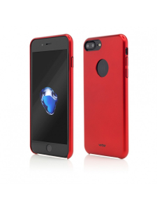 Husa iPhone 7 Plus | Clip-On Slim Magnetic Series | Metal Red0