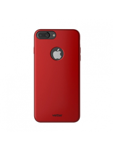 Husa iPhone 7 Plus | Clip-On Slim Magnetic Series | Metal Red1