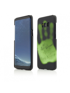 Husa Samsung Galaxy S8 Plus G955 | Clip-On Heat Sensitive | Color Changing | Black-Green0