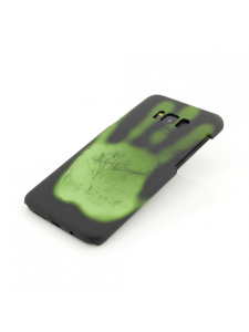 Husa Samsung Galaxy S8 Plus G955 | Clip-On Heat Sensitive | Color Changing | Black-Green2