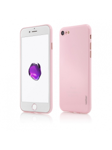 Husa iPhone 8, 7 | Clip-On | Ultra Thin Air Shiny Series | Pink0