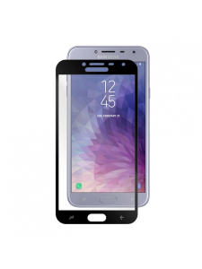 Husa Samsung Galaxy J4 (2018) | Full Frame Tempered Glass Vetter GO | Black1