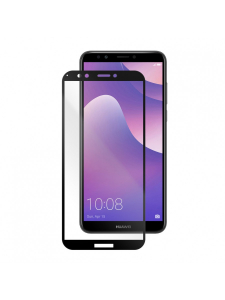 Folie Protectie Sticla Huawei Y7 (2018) | Y7 Prime 2018 | Y7 Pro | Honor 7C | Full Frame Tempered Glass Vetter GO | Black1