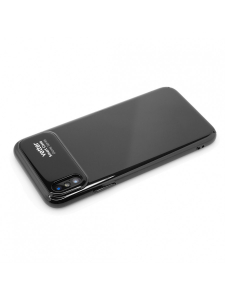 Husa iPhone X | Smart Case Glossy Series | Black1