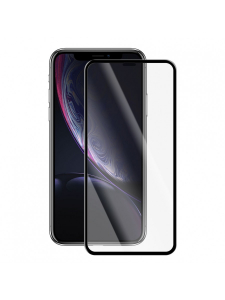 Folie Protectie Sticla iPhone XR | Full Frame Tempered Glass Vetter GO | Black1