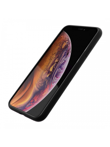 Husa iPhone XS Max   Clip-On Soft Touch Silk Series   Black1