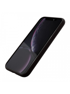 Husa iPhone XR | Clip-On Soft Touch Silk Series | Black1