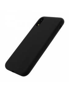 Husa iPhone XR | Clip-On Soft Touch Silk Series | Black2