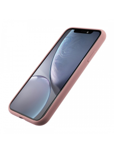 Husa iPhone XR | Clip-On Soft Touch Silk Series | Pink1