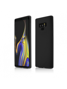 Husa Samsung Galaxy Note 9 | Clip-On Soft Touch Silk Series | Black0
