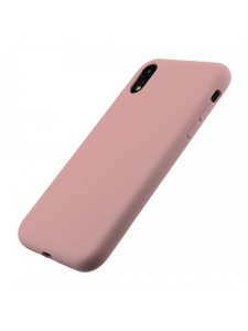 Husa iPhone XR | Clip-On Soft Touch Silk Series | Pink2
