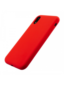 Husa iPhone XR | Clip-On Soft Touch Silk Series | Red2
