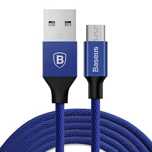 CABLU BASEUS YIVEN IPHONE 180cm, NAVY BLUE 1
