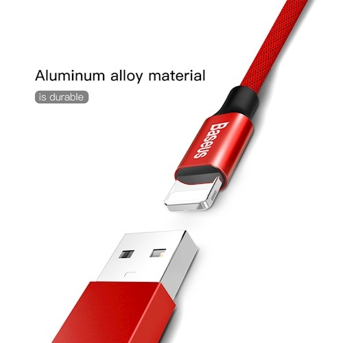 CABLU BASEUS YIVEN IPHONE 180cm, RED [4]