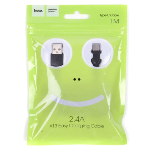 CABLU HOCO X13 EASY CHARGING LIGHTNING 100CM, WHITE 0