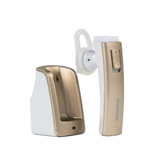 CASCA BLUETOOTH REMAX RB-T6C 4.0 CU DOCKING INCARCARE, GOLD 0