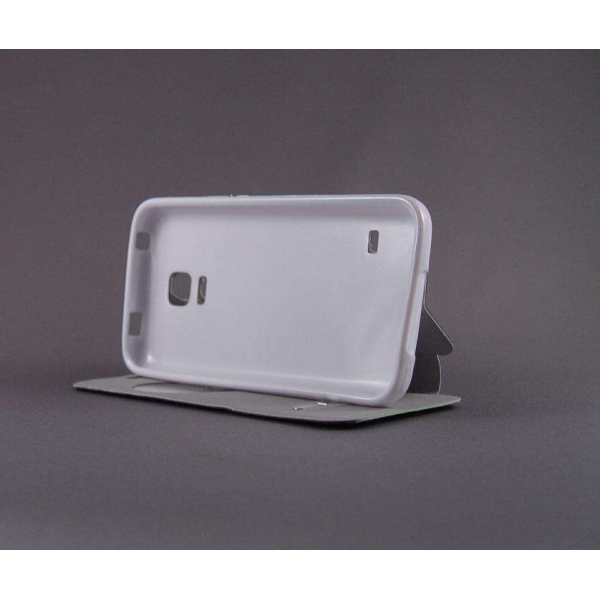 "Husa S-View ""LOVE"" Samsung GALAXY S5 Mini 4"