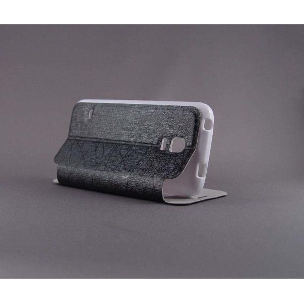 "Husa S-View ""LOVE"" Samsung GALAXY S5 Mini 3"