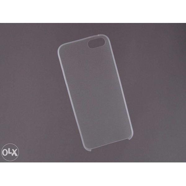 HUSA bumper iPhone 5 5S din plastic subtire - opaca 1