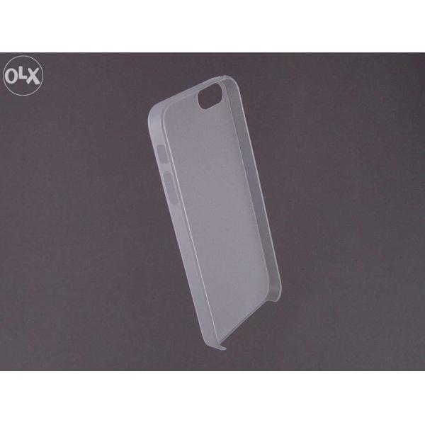 HUSA bumper iPhone 5 5S din plastic subtire - opaca 2
