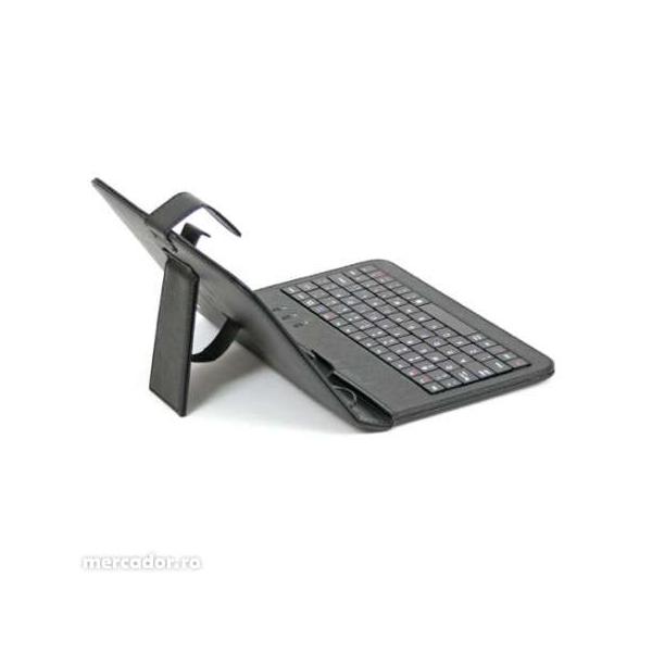 "Husa Tableta universala 7"" cu tastatura 4"