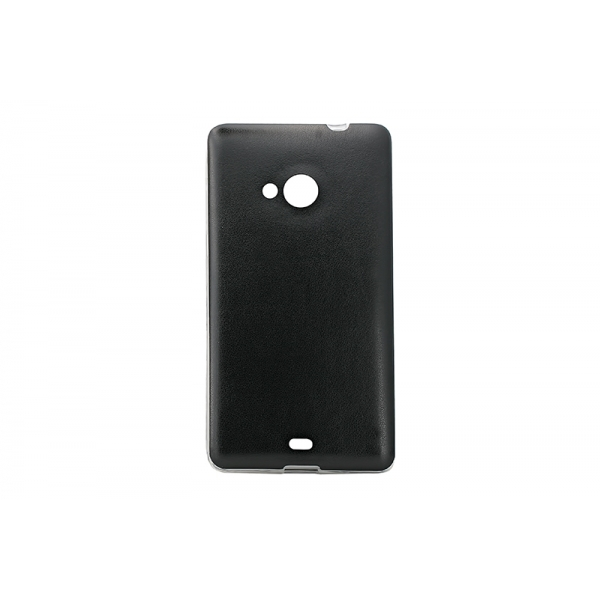 Husa Classy Microsoft 535 Lumia Negru [0]