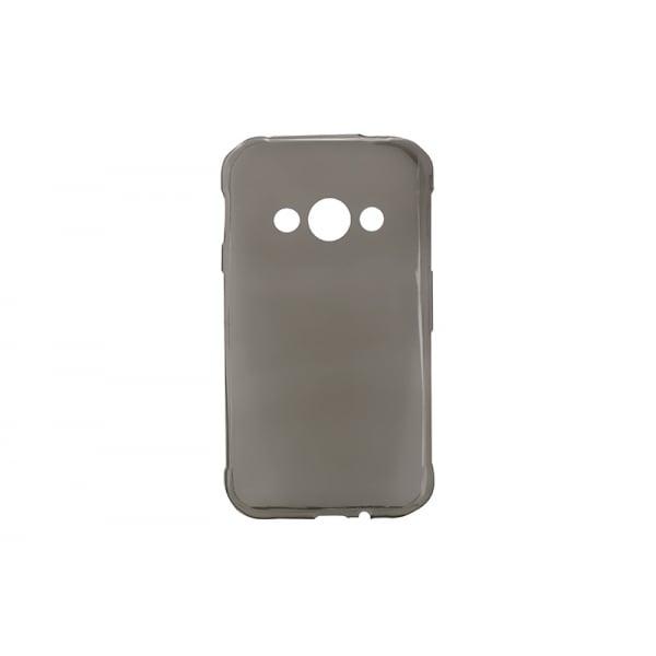 Husa invisible Samsung Galaxy Xcover3 Negru 0