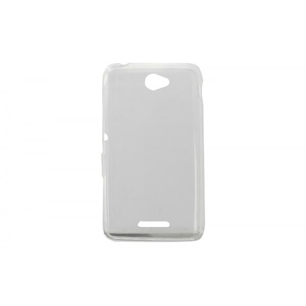 Husa Invisible Sony Xperia E4G Transparent 0