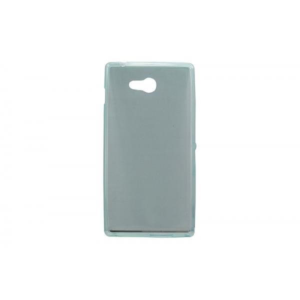 Husa Invisible Sony Xperia M2 Transparent 0