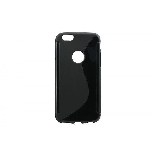 Husa Silicon iPHONE 6/6S Negru [0]