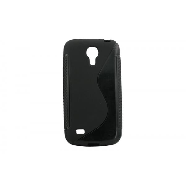 Husa Silicon Samsung Galaxy S4 Mini I9190 Negru 0
