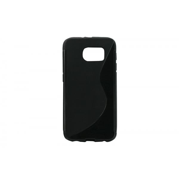 Husa Silicon Samsung Galaxy S6 G920 Negru [0]