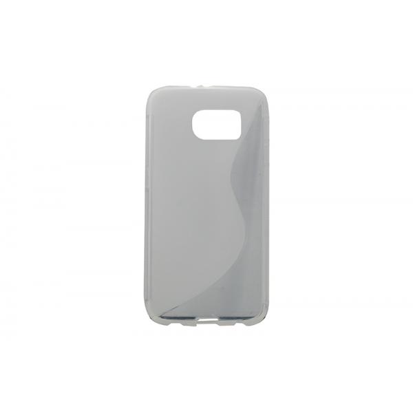 Husa Silicon Samsung Galaxy S6 G920 Transparent [0]