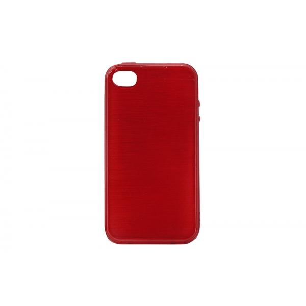 Husa Wavy iPHONE 4/4S Rosu [0]