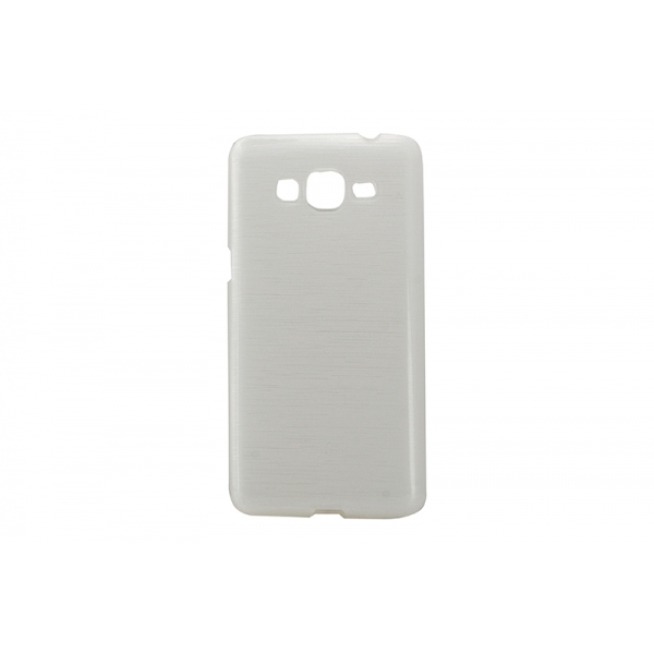 Husa Wavy Samsung Galaxy Grand Prime G530 Alb [0]