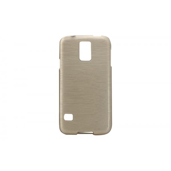 Husa Wavy Samsung Galaxy S5 G900 Auriu [0]