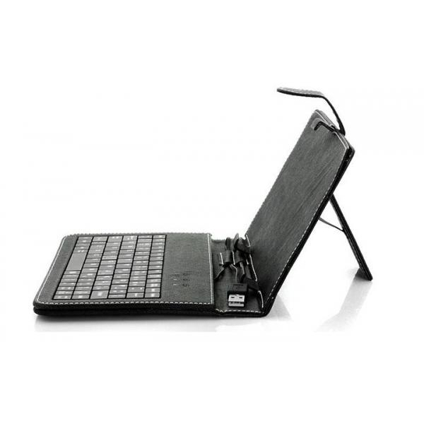 "Husa Tableta universala 7"" cu tastatura 3"