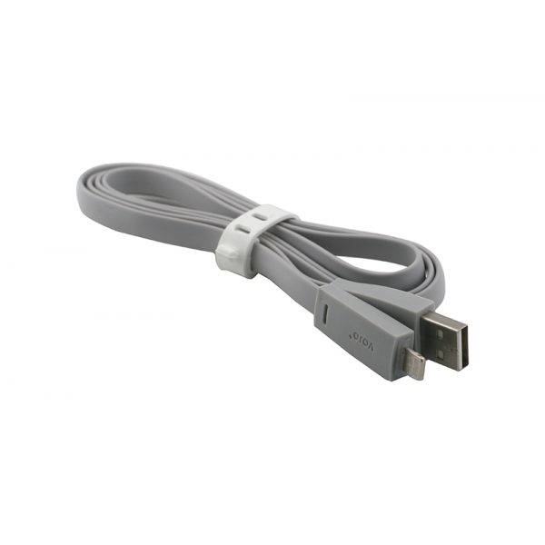 USB Cablu My-Basic iPhone 5/6 Gri 0