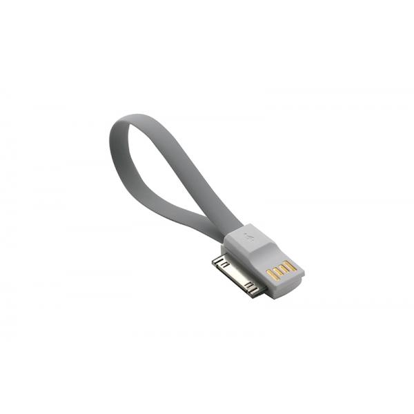 USB Cablu My-Magnet compatibil cu iPHONE 4 Gri 0