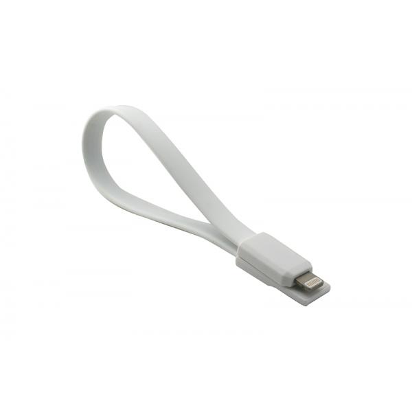USB Cablu My-Magnet compatibil cu iPHONE 5/6 Alb 0