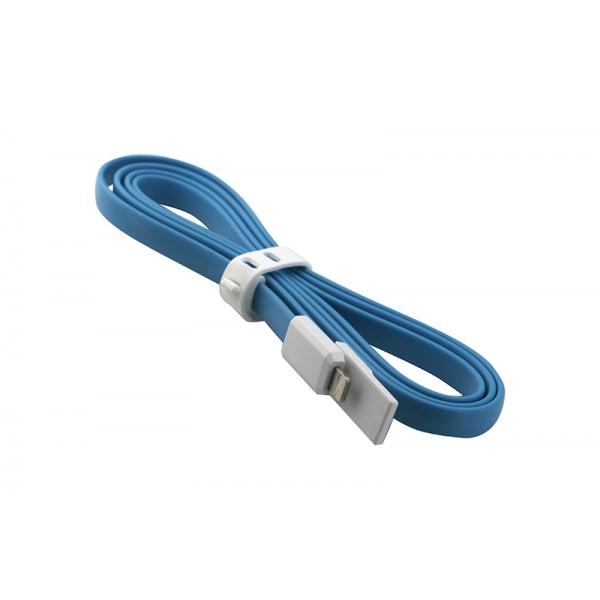 USB Cablu My-Trim compatibil cu iPHONE 5/6 Albastru 0