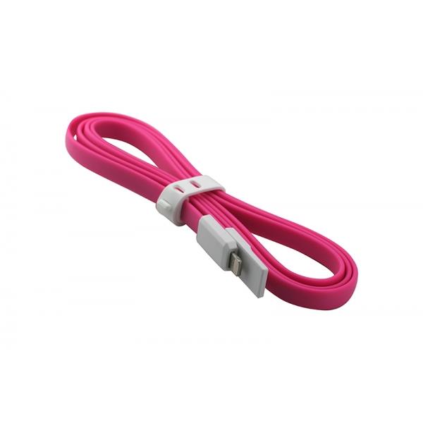 USB Cablu My-Trim compatibil cu iPHONE 5/6 Roz 0