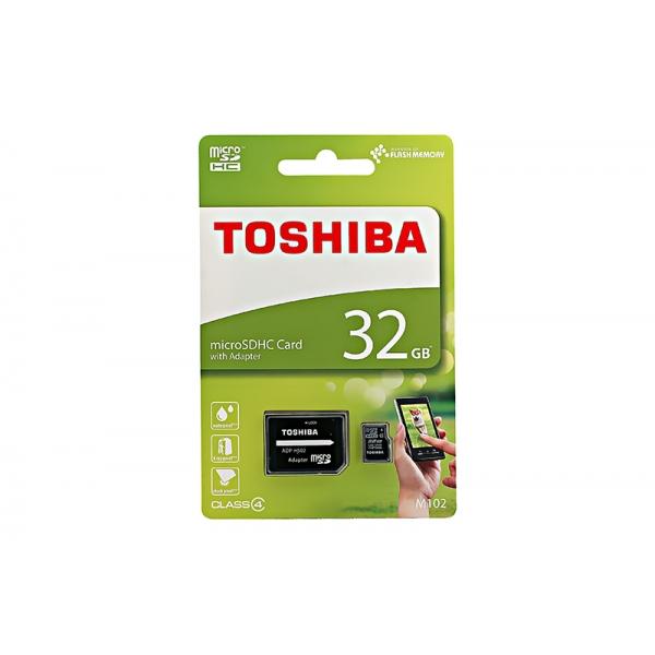 Card Toshiba Micro SD Clasa4 32GB  0