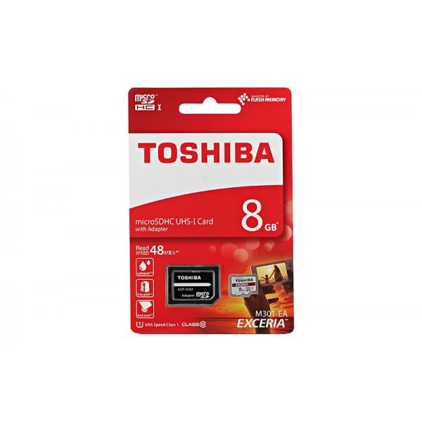 Card Toshiba Micro SD Clasa10 08GB  0