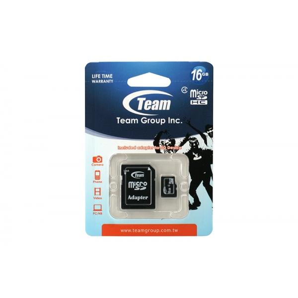 Card Team Micro SD Clasa4 16GB 0